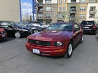2007 Ford Mustang Red