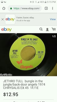 black and yellow vinyl record Florence, 39073