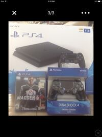 Sony PS4 console with controller and game case Bell Gardens, 90201