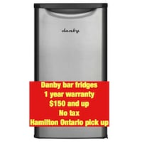 Fridges Danby  bar  1 year warranty scratch and dent in box Hamilton, L8W 3A1