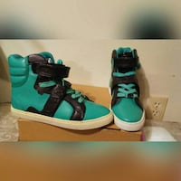 Android Homme Green/Black High Tops