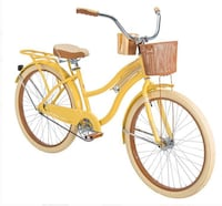 yellow and black cruiser bicycle Raleigh, 27616