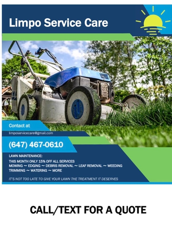 Lawn care/ Landscaping Services 22c84330-8ab2-4bb0-ae69-60938c8fbc86