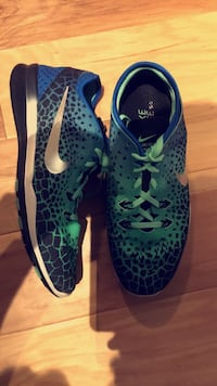 Nike running shoes. Worn 4 to 5 times, size 8 and half in woman's  Ames, 50010