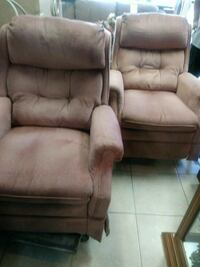 Pair of Lane recliners Pembroke Pines, 33024
