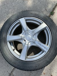 """17"""" Winter Wheels and Tires"""