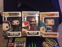 3 Pop! Animation Vinyl Figures