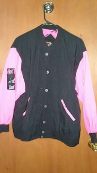 pink and black button up jacket Lyons, 60534