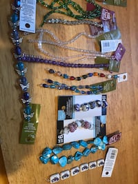 Beads, 30 strands of jewelry making beads, paid 6-1 2 a strand selling lot for $40 Glen Burnie, 21060