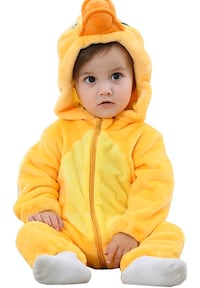 Unisex Baby Animal Costumes Hooded Flannel Romper Outfits BNIB