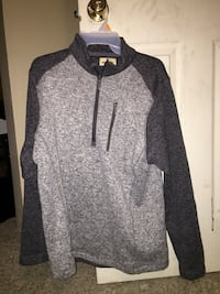 gray and black zip-up hoodie Lincoln, 68506