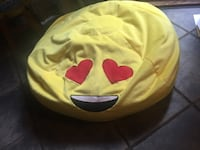 yellow and red emoji pillow Gaithersburg, 20878