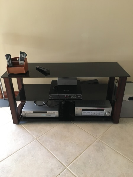 used tv stand for sale in hahnville letgo rh us letgo com