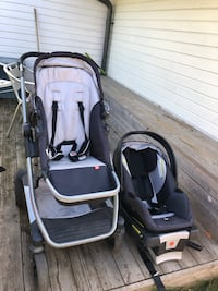Baby Stroller and car seat 6641 km