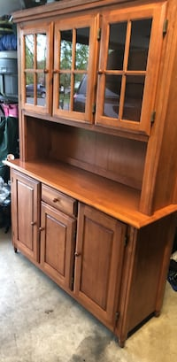 Buffet w/ hutch and dining table