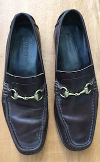 Gucci Leather Driving Shoes Size 9.5 Kirkwood, 63122