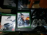 Xbox One with 2 controllers and games Hagerstown, 21740