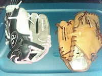 His and hers baseball gloves size 11 kids Norfolk, 23518