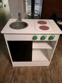 IKEA wooden kids kitchen
