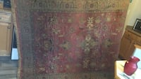 "92"" by 64"" real Egyptian rug"