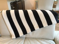 IKEA Throw Blankets Black & White スタンフォード, PE9 2EA