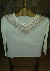 Camiseta hippie crema  Madrid, 28039