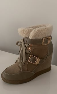 Wedge fall/winter sneakers