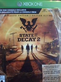 State Of Decay 2 Xbox one Laval, H7P 2M5