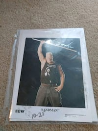 Sandman autograph WWF sign autograph from Al Snow Kingman, 86409
