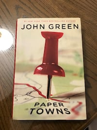 Book Paper Towns by John Green. Toronto