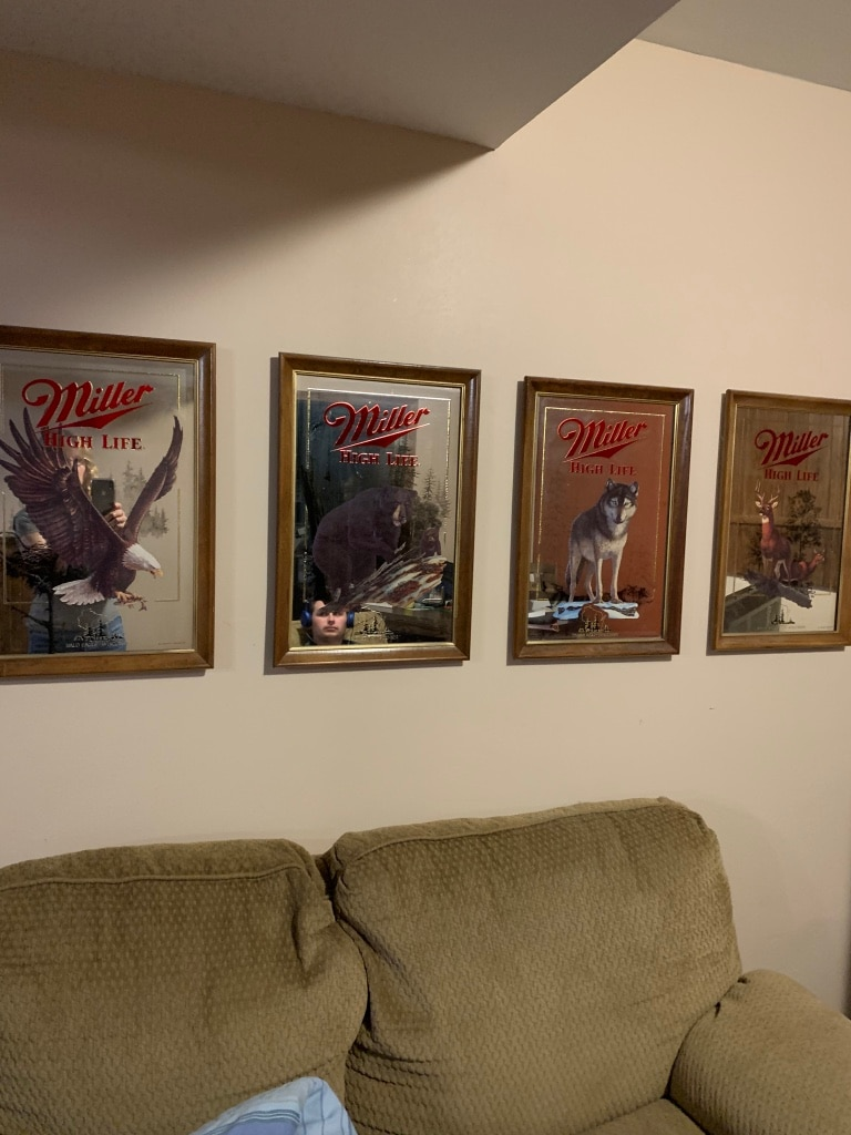 Photo 5 Miller High life collectable mirrors
