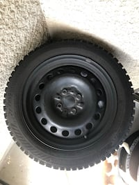 Fiat 500 winter wheels & tires North Vancouver, V7M 1C8