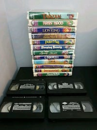Assorted Disney VHS feature videos New Hamburg, N3A 2E3