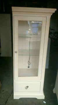 white wooden display cabinet Elmhurst, 60126