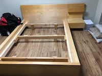 IKEA double bed frame  Pickering, L1X 1B2