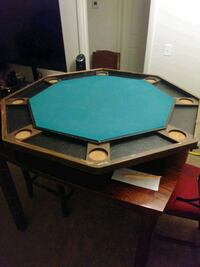 Table and poker table top