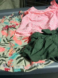 girls summer clothes size 6-12m    Rockville
