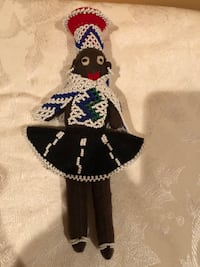 Unique Handmade  African Tribal Craft Doll Gaithersburg