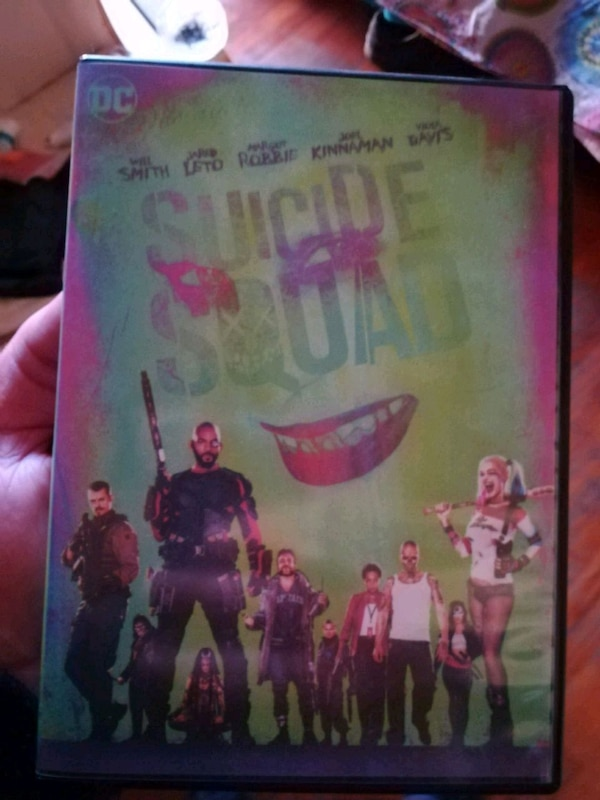 Suicide squad in DVD