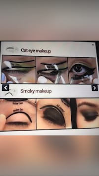 Ny REA Orginal Cat Eye och Rökiga Makeup