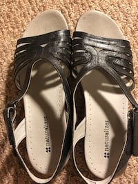 pair of black-and-gray sandals Calgary, T3C 0W4