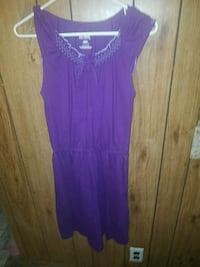 women's purple sleeveless dress Golden Valley, 86413