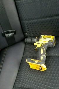 yellow and black DeWalt cordless power drill Silver Spring, 20902