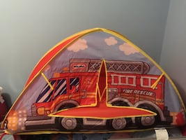 Little Tikes Fire Truck Ball Pit Tent Bed