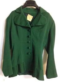 Vintage green jacket about size 4