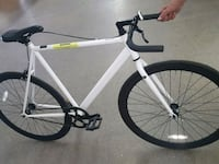 white and black road bike Glendale, 85310
