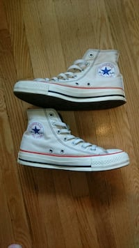 Unisex White Converse All Star high-top sneakers Toronto, M2H 3A9