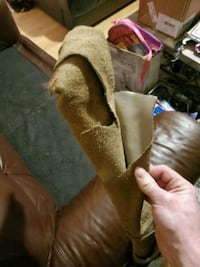Rolls of leather from the factory Brampton, L6X 2L6