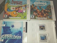 Nintendo 3DS games $15 each Mississauga, L5G 1G8