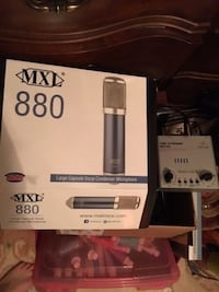MXL 880 large capsule vocal condenser microphone